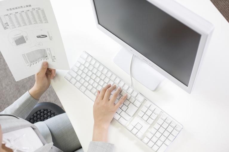 会計データ入力及び対応可能会計ソフトについて